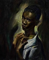 nobody knows the trouble i've seen, self-portrait by leroy foster