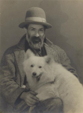 constantin brancusi by man ray
