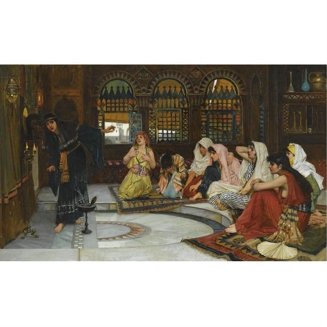consulting the oracle by john william waterhouse