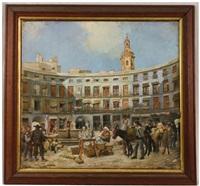 plaza redonda, valencia spain by henry correja