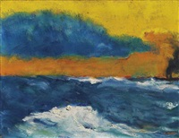 windiger nachmittag by emil nolde