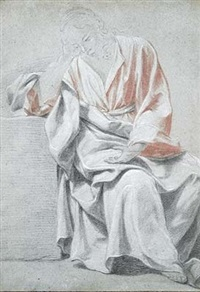 étude pour un saint jean by johann justin preissler
