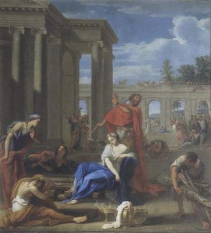 le sacrifice diphigénie  by jean le blond