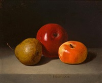 still life with fruit by peter baumgras