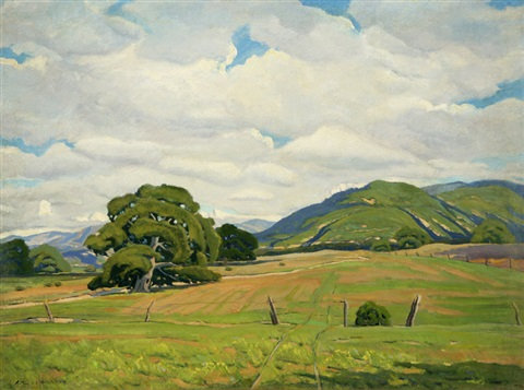 peninsula landscape by arthur hill gilbert
