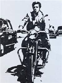 jean paul belmondo in way by mustafa karyagdi