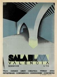sala blava/valencia by josep renau montoro