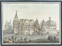 the palace at kolomenskoe, near moscow by giacomo quarenghi
