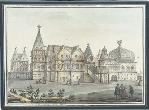 the palace at kolomenskoe near moscow by giacomo quarenghi