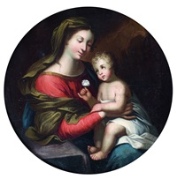 vierge à l'enfant by nicolas mignard