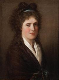 portrait d'une dame de qualité by gaspare landi