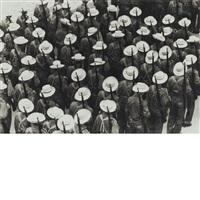 los sombreritos (the white hats) by raul corrales