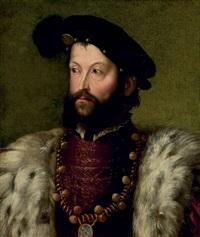 portrait (ercole ii d'este?) by nicolo dell' abbate