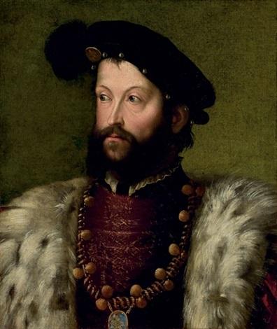 portrait ercole ii deste by nicolo dell abbate