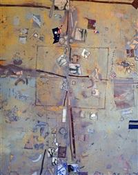 australian landscape with fragments by robert litchfield juniper