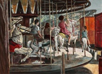 the carousel by albert gold
