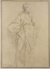 étude d'homme by françois (le moine) le moyne