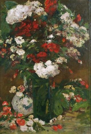 bouquet de fleurs by louis alexandre cabié