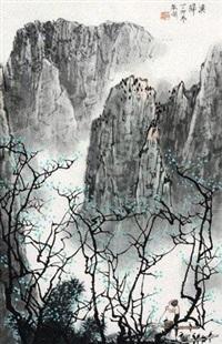 渔归图 by bai qigang