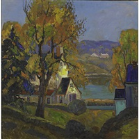autumn, bucks county by fern isabel coppedge