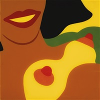 nude for the peace tower by tom wesselmann