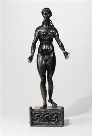 standing female nude by elie nadelman