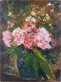 vase de fleurs by georges jeannin
