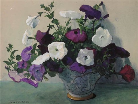 petunias by jane peterson