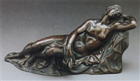a figure of a sleeping nymph by ferdinando tacca