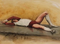 untitled (the gymnast) by ken danby