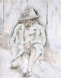mendiant à san antonio by george biddle