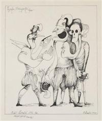 personnages surréalistes by mihail chemiakin