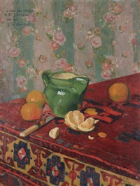 composition aux oranges by georges daniel monfreid