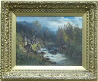 riverscape by carl philipp webber