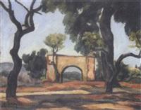 arche sous le arbres en algérie by camille leroy