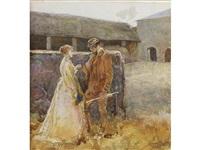 sweethearts by george john pinwell