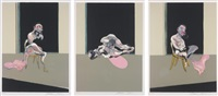 triptyque août 1972 (after triptych august 1972) by francis bacon