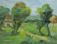 the house in the crearing by dan bajenaru