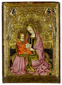 the madonna and child by antonio alberti (da ferrara)