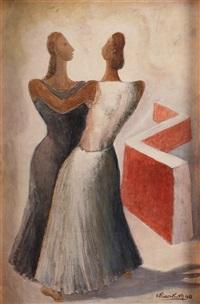 dos mujeres - danzando by emilio rosenblueth