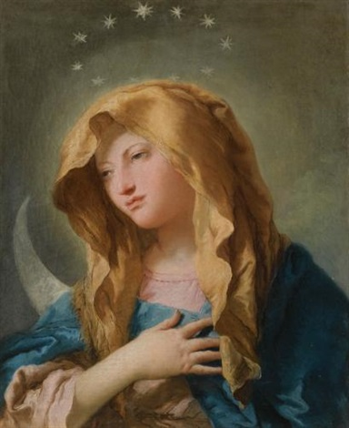 the virgin immaculate by giovanni battista tiepolo