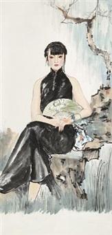 贵妇图 by bai bohua