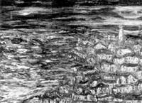 paisaje de punta del este by raoul damonte taborda