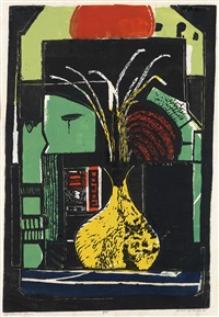 yellow vase by james lesesne wells