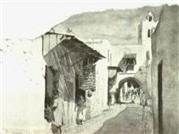 une rue à tunis by paolo simoni