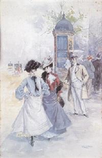scène de boulevard by charles billon