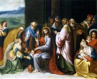 parabole des enfants avec jésus by ambrosius francken the elder