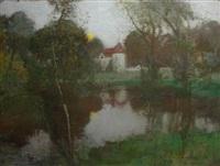 romance (a moonlit landscape) by robert macaulay stevenson