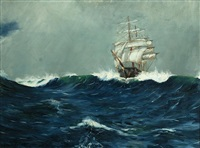 an australian clipper in the roaring forties by david roy macgregor