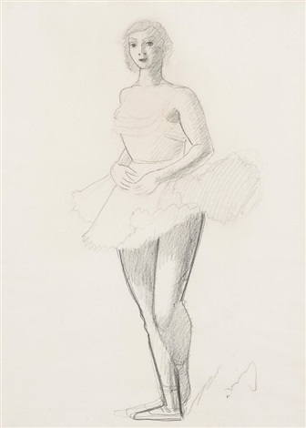 danseuse by andré derain